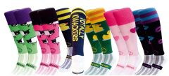 WackySox 6 Pairs for 4 Saver Pack Rugby Socks, Hockey Socks - Muddy Match